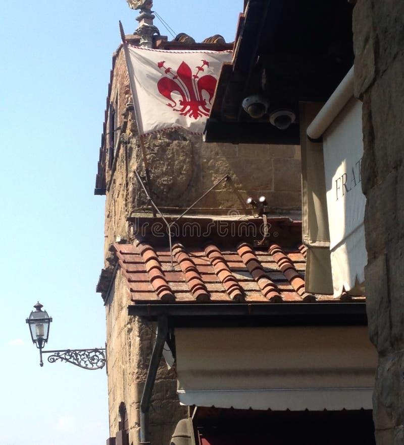 屋顶在佛罗伦萨 免版税图库摄影