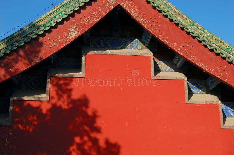屋顶墙壁 库存图片