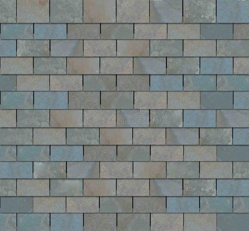 屋顶板岩瓦片 免版税库存照片