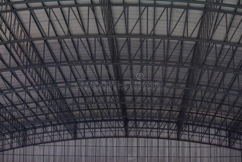 屋顶的结构钢 库存图片