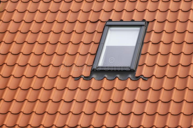 屋顶窗 库存照片