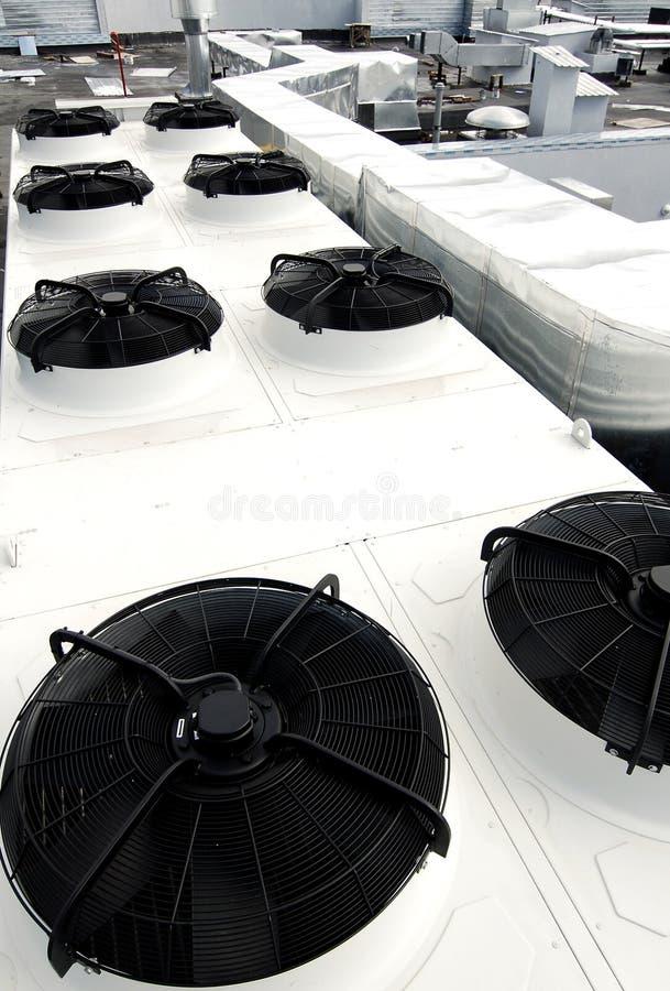 屋顶系统透气 库存照片