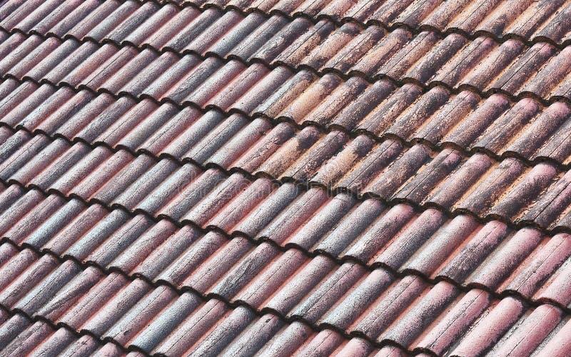 屋顶艺术样式,纹理,生锈 免版税库存图片