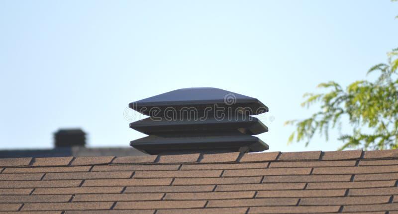 屋顶透气 库存图片