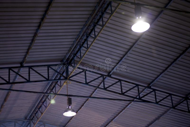 屋顶钢结构  免版税图库摄影