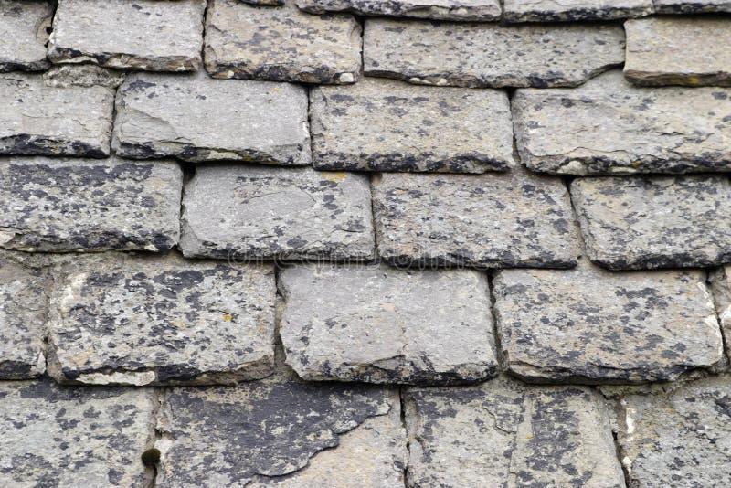 屋顶页岩 图库摄影