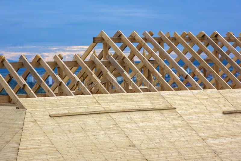 屋顶建筑 木屋顶木屋建筑 库存照片