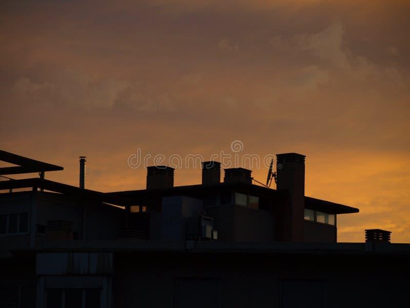 屋顶细节 免版税库存照片