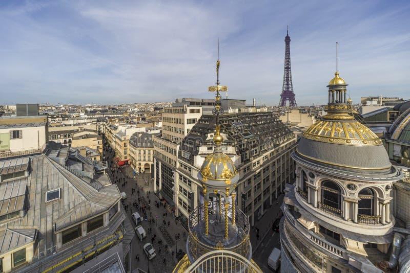 巴黎屋顶 图库摄影
