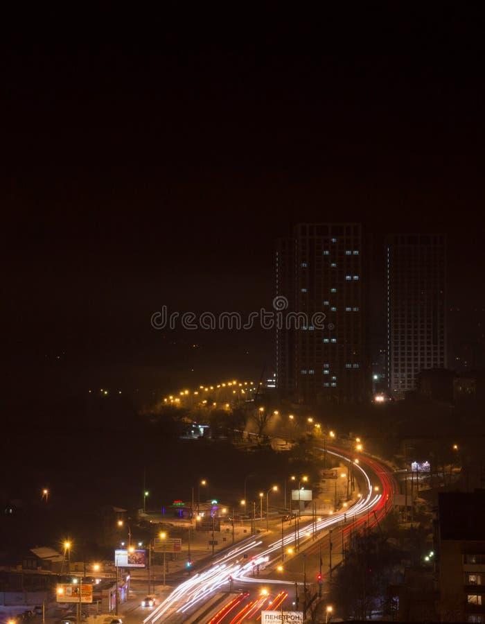 从屋顶Ekaterinburg的看法 图库摄影