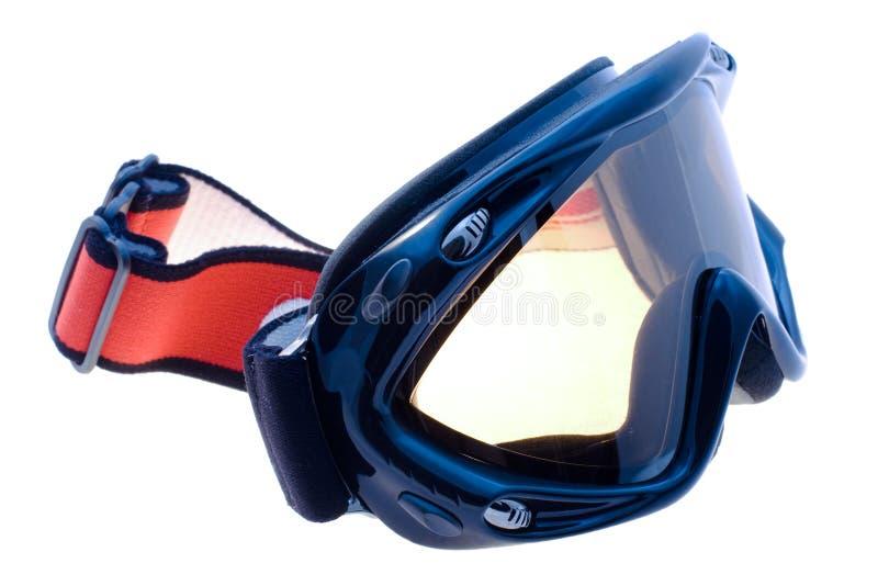 屏蔽滑雪 图库摄影