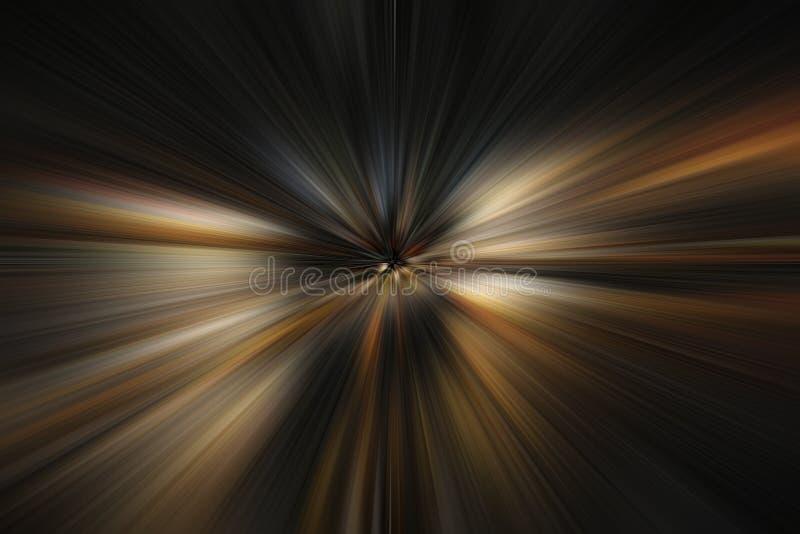 展望期光 向量例证
