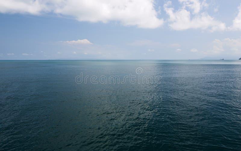 展望期海洋 图库摄影