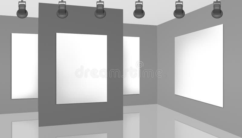 展览室,画廊 库存照片