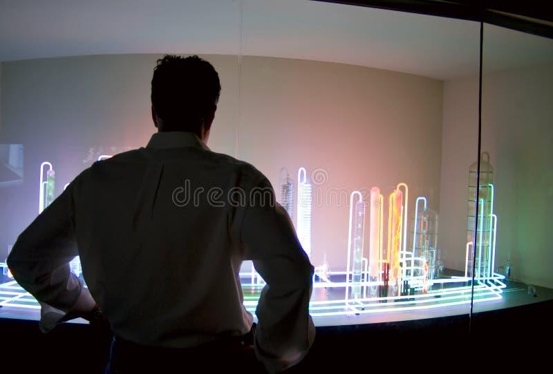 展览科学 库存照片