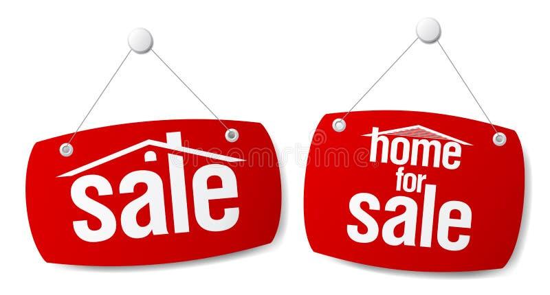 属性销售额符号 向量例证