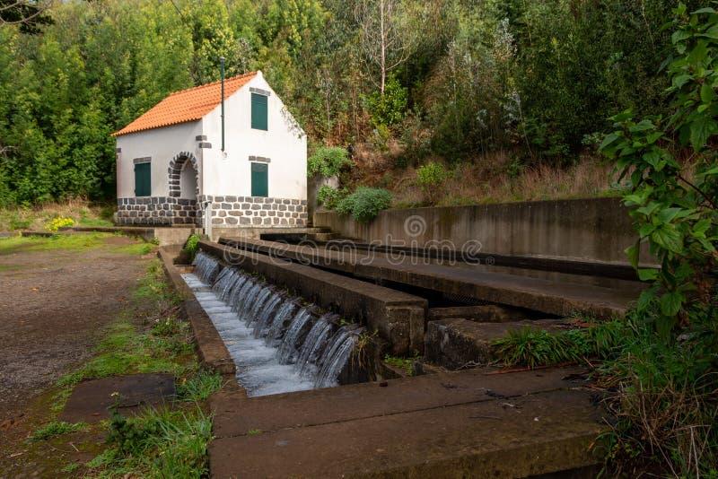 山中莱瓦达斯的淡水 库存图片