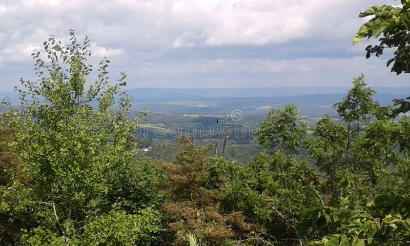 山俯视 库存照片