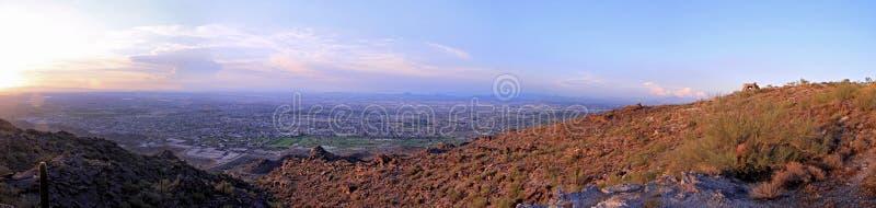 山全景南的菲尼斯 图库摄影