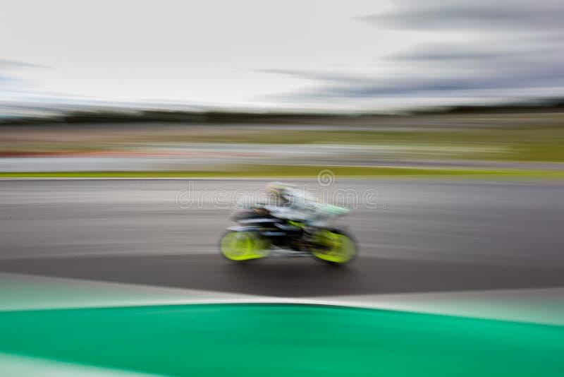围绕3 - 2017年山叶马达财务澳大利亚超级摩托车冠军 库存图片
