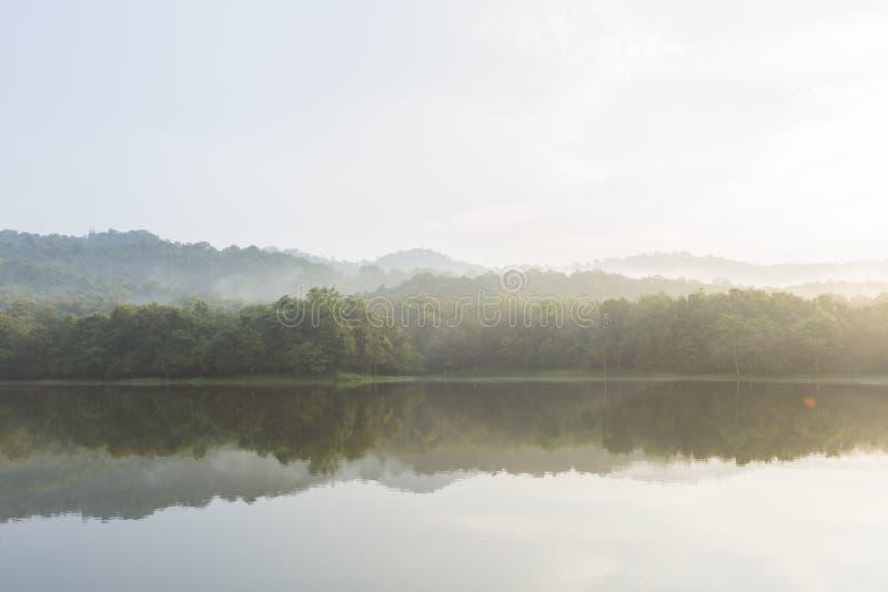 山和水库 库存图片