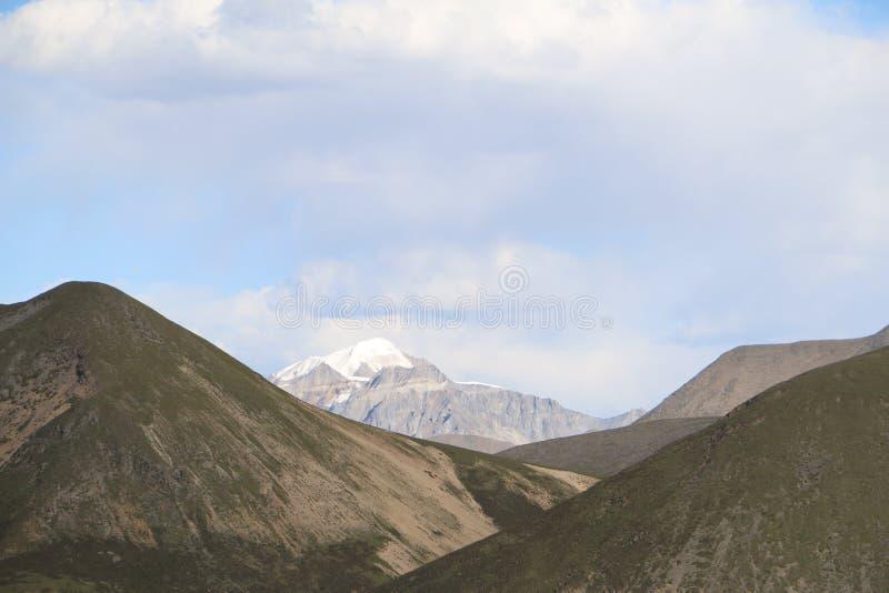 山和草原 库存照片