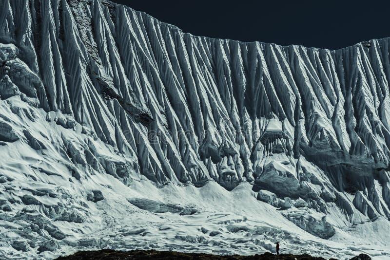 山喜马拉雅山 图库摄影