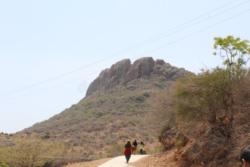 山在古杰雷特 图库摄影