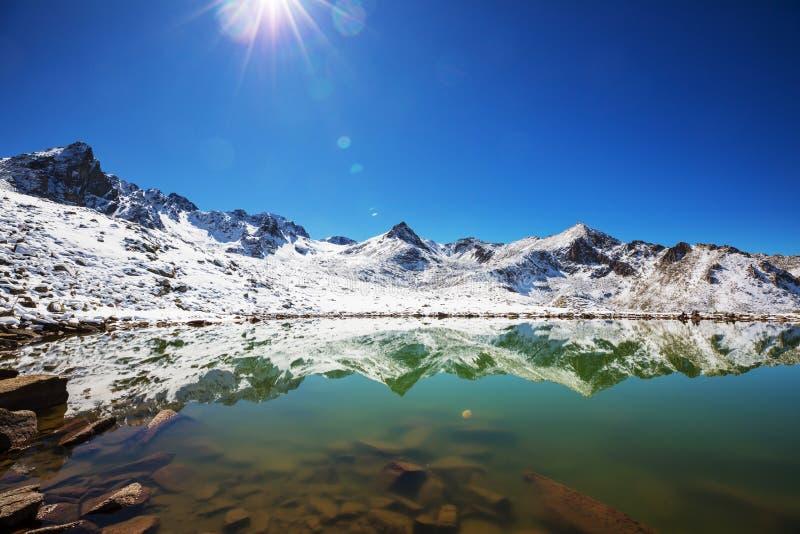 山在土耳其 库存图片
