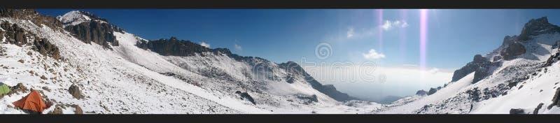 山在墨西哥 库存照片