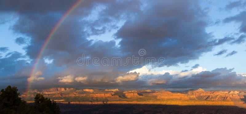 山在锡安NP,犹他 图库摄影