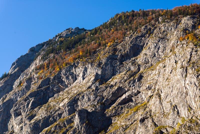 山奥地利在秋天 免版税库存照片