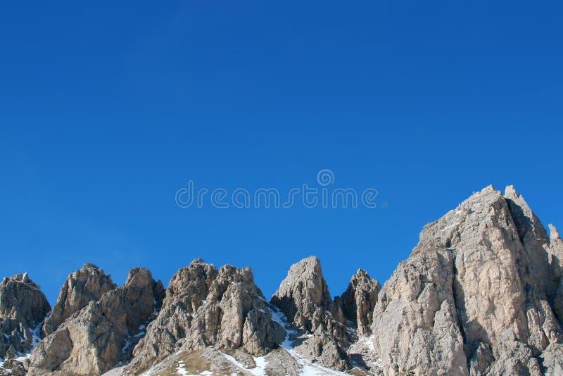 山好的天空 库存照片