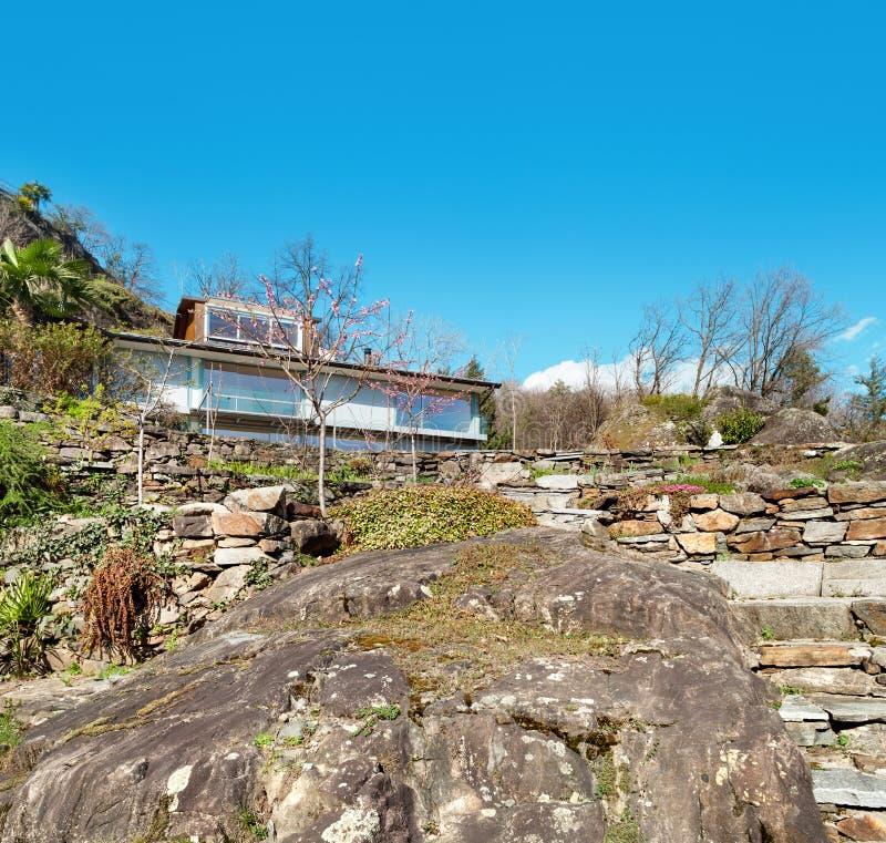 山房子,户外 免版税图库摄影
