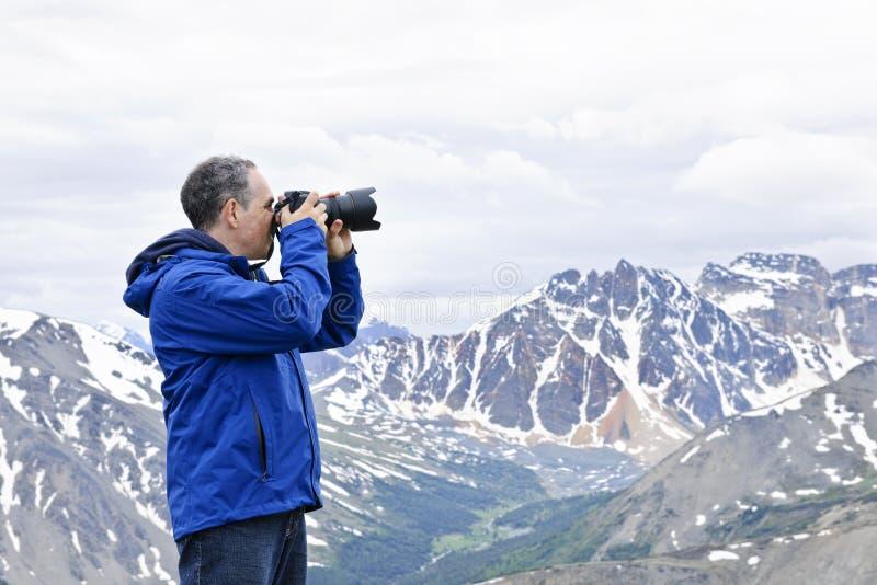 山摄影师 库存照片