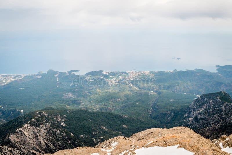山景在土耳其 免版税库存照片