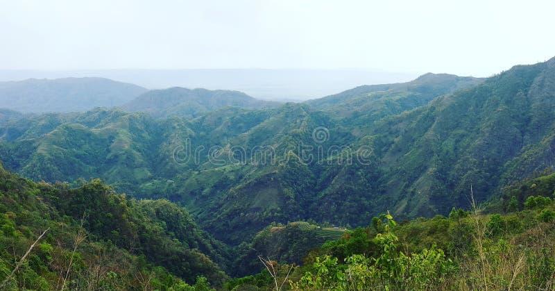 山景尼泊尔 库存图片