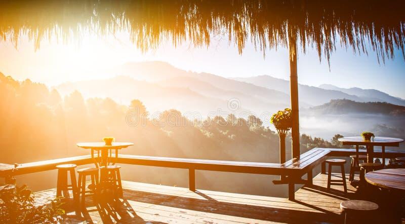 山景自然,风景和室外观光 库存照片
