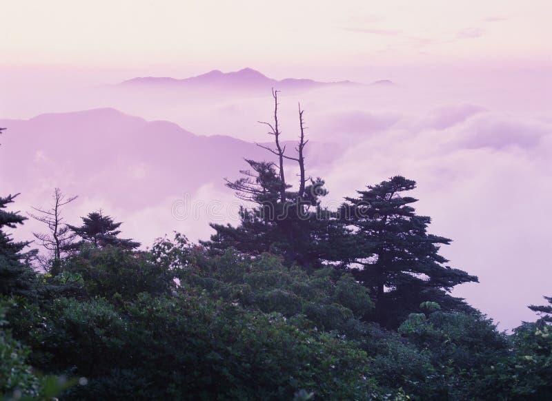 山景 免版税库存照片