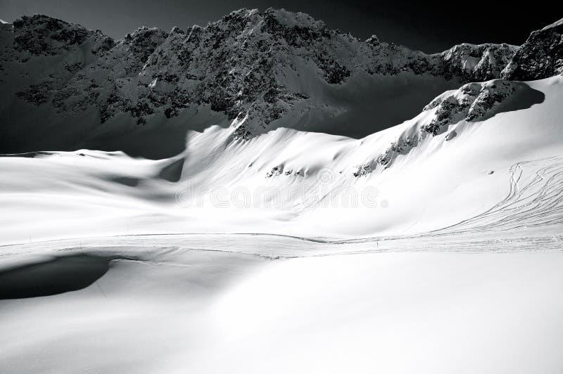 山横向 免版税图库摄影