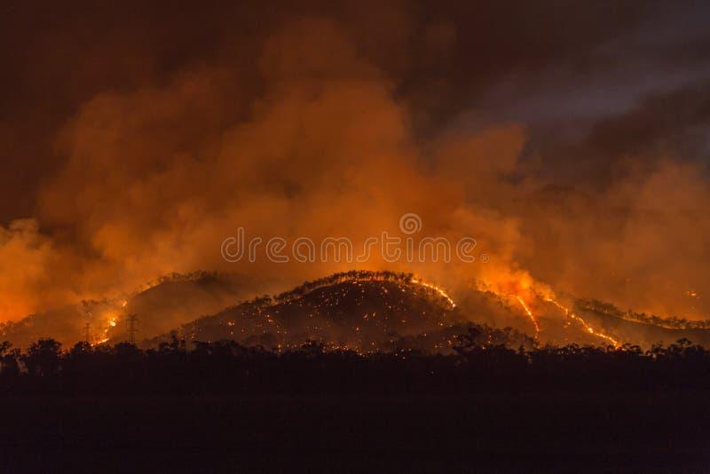 Download 山火 库存图片. 图片 包括有 橙色, 叶子, bushfire, 晚上, 范围, 未管制 - 62539691