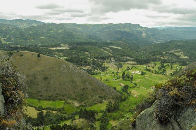 山的和平 免版税库存照片