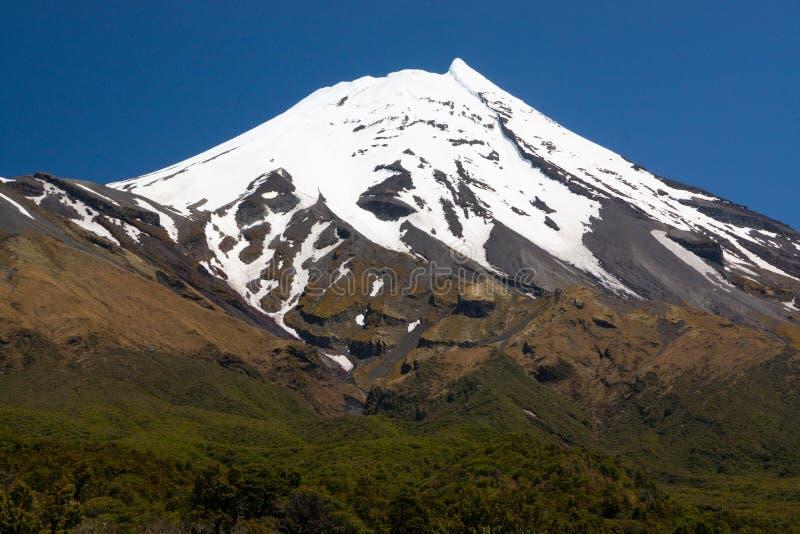 山的峰顶 免版税图库摄影