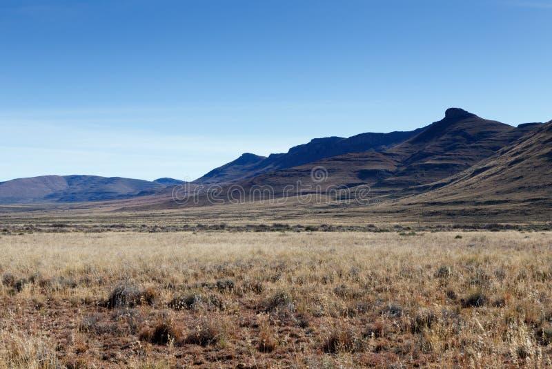 山的风景视图在赫拉夫Reinet 免版税库存照片