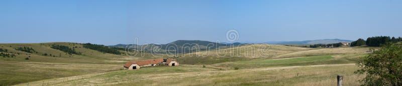 山的Zlatibor老房子 免版税图库摄影