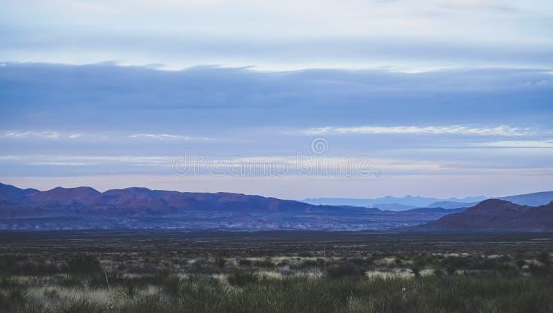 山美丽的景色在大弯曲国家公园的 库存照片