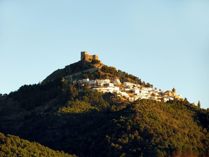 山脉塞古拉村庄在哈恩省 图库摄影