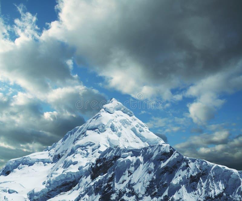 山脉高山 免版税库存图片