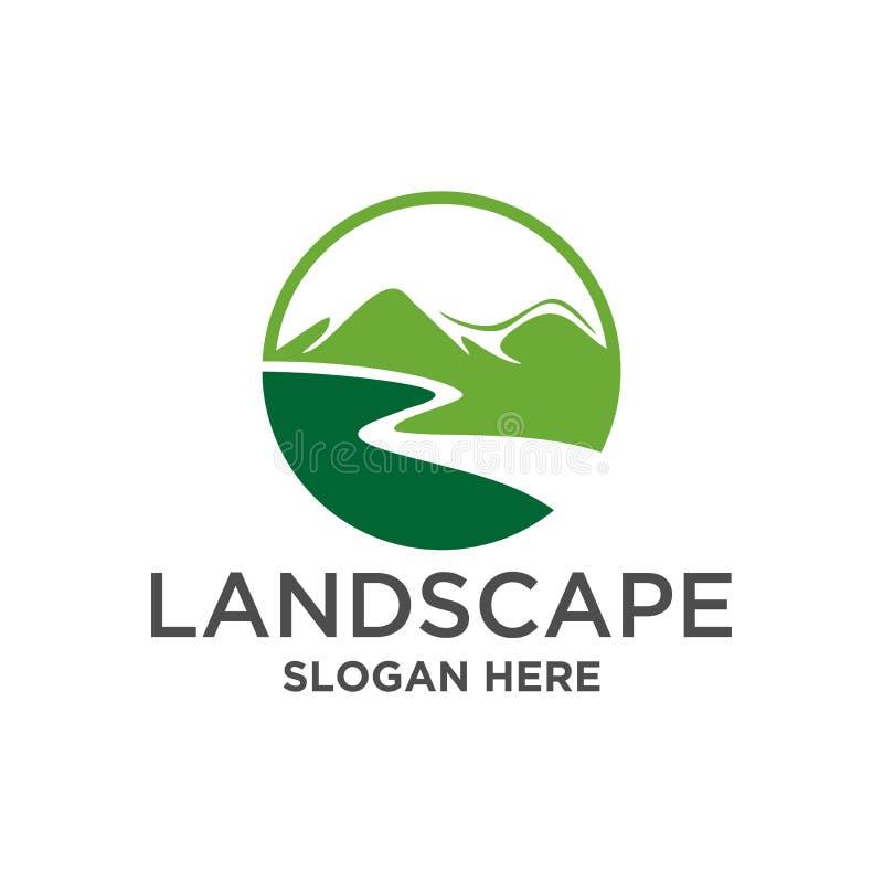 山自然使边界Clipart环境美化 库存例证