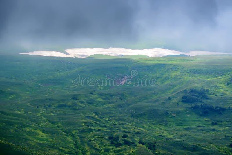 山草甸风景看法  免版税图库摄影